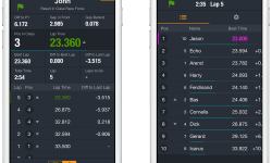 New Live Timing features in MYLAPS Speedhive app